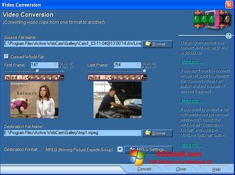 截图 Active WebCam Windows 10