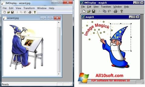 截图 ImageMagick Windows 10