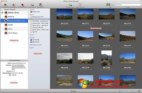 截图 iPhoto Windows 10