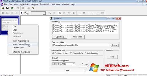 截图 DjVu Solo Windows 10