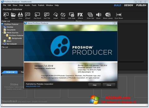 截图 ProShow Producer Windows 10