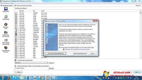 截图 BadCopy Pro Windows 10