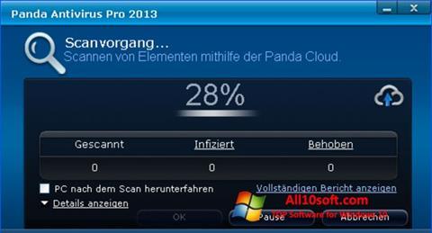截图 Panda Antivirus Pro Windows 10