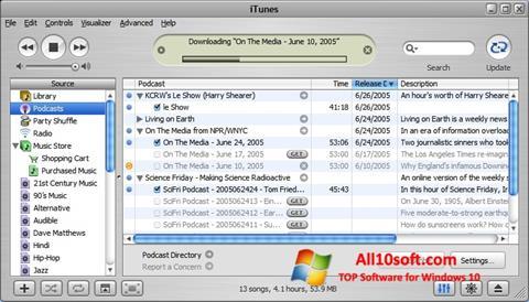 截图 iTunes Windows 10