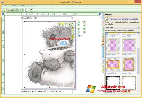截图 PhotoMix Collage Windows 10
