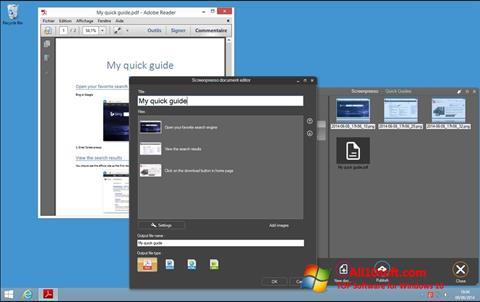 截图 Screenpresso Windows 10