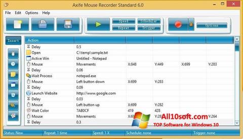 截图 Mouse Recorder Windows 10