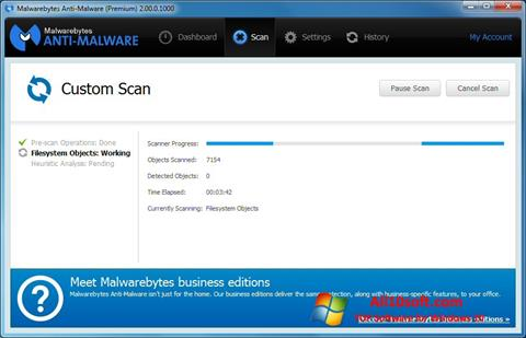 截图 Malwarebytes Anti-Malware Free Windows 10