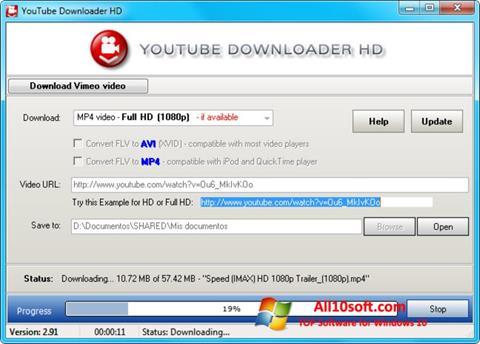 截图 Youtube Downloader HD Windows 10