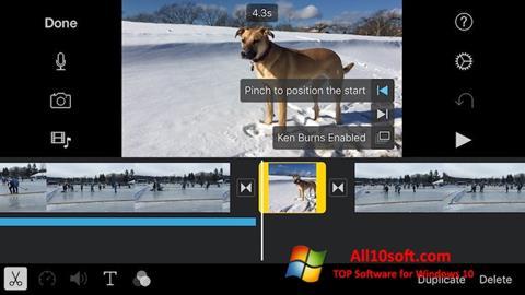 截图 iMovie Windows 10