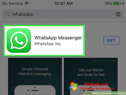 截图 WhatsApp Windows 10