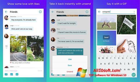 截图 Yahoo! Messenger Windows 10