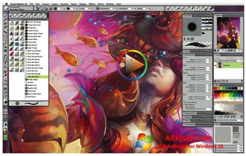 截图 Corel Painter Windows 10