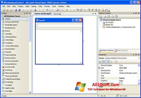截图 Microsoft Visual Basic Windows 10
