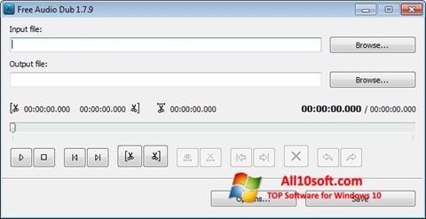 截图 Free Audio Dub Windows 10