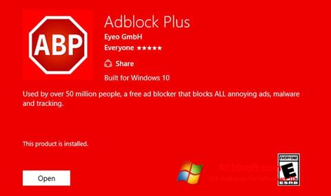 截图 Adblock Plus Windows 10