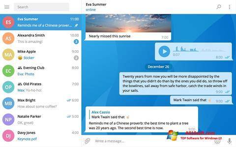 截图 Telegram Desktop Windows 10